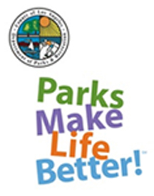 Los Angeles County Department of Parks and Recreation Parks Make Life Better logo